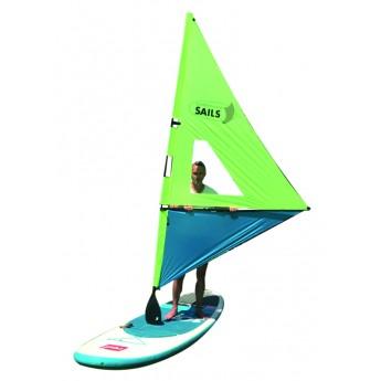 Sada k oplachtění pádla pro paddleboard ŽLUTO/modrá